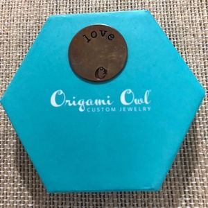 Origami Owl Med. Love Plate